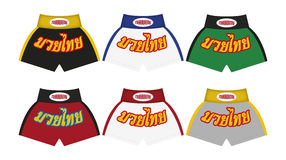Thai Boxing Pants Man Stock Images