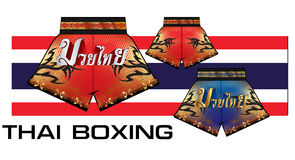Thai boxing shorts  1 Royalty Free Stock Images