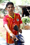 Thai boy royalty free stock photography