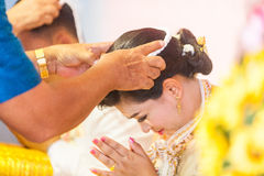 thai bröllop Royaltyfri Foto