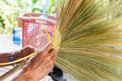 Thai broom Royalty Free Stock Photos