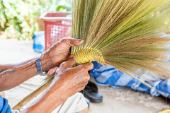 Thai broom Stock Images