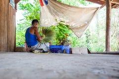 Thai broom Stock Images