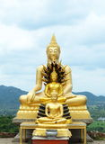 Thai Buddha. In thailand, beautiful royalty free stock image