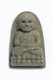 Thai Buddha Amulet. On the white  background Stock Photography