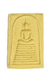 Thai Buddha Amulet Royalty Free Stock Photography