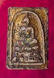 Thai Buddha amulet Stock Images