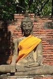 thai buddha bildtempel Fotografering för Bildbyråer