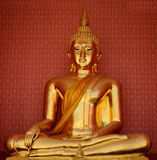 Thai Buddha Golden Royalty Free Stock Photo