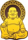Thai Buddha Golden Statue Stock Photography