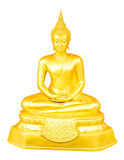 Thai Buddha Images for the Days of the Week Stock Image