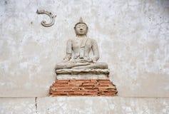 thai buddha kyrklig staty Arkivbilder