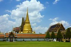 thai buddha smaragdtempel Royaltyfria Bilder