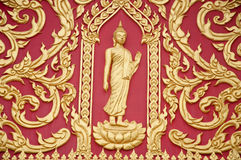 Thai buddha statue Royalty Free Stock Images