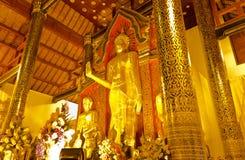 Thai Buddha Statue. Standing Buddha image at Wat Thai in Chiangmai Royalty Free Stock Image