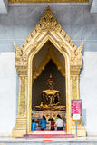 Thai buddha statue, Wat Traimitr Withayaram Royalty Free Stock Photography