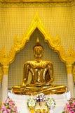thai buddha staty Arkivfoto