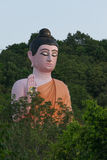 thai buddha staty Arkivbilder