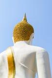 thai buddha statytempel Arkivfoto