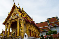 The Thai Buddha temple Royalty Free Stock Image