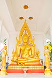 Thai Buddha in Thailand. In the published Hatyai Natural Park at south of Thailand stock photo
