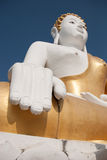 Thai buddha, Wat Phra That Doi Kham, Chiangmai, Thailand Royalty Free Stock Photography