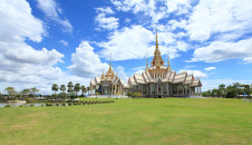 Thai Buddhism temple Stock Photo