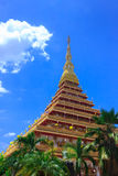 Thai Buddhism temple Royalty Free Stock Photos