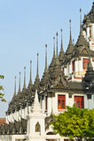 Thai Buddhist achitectural Royalty Free Stock Images
