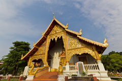 Thai Buddhist Architecture Stock Image
