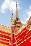 Thai Buddhist art temple Royalty Free Stock Photography