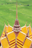 Thai Buddhist art temple Royalty Free Stock Images