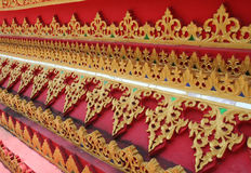 Thai buddhist background Stock Images