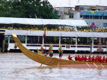 Thai Buddhist boats, Bangkok, Thailand. Royalty Free Stock Photos