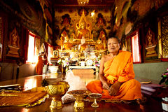 Thai Buddhist monk Stock Photography