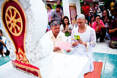 Thai Buddhist ordination ceremony Royalty Free Stock Photos