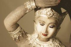 Thai Buddhist sculpture Royalty Free Stock Photos