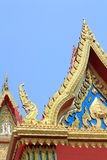 Thai buddhist temple art detail Royalty Free Stock Photography
