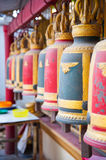 Thai Buddhist Temple Bells Royalty Free Stock Images