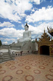 Thai Buddhist temple with Buddha statue Royalty Free Stock Photos