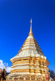 Thai Buddhist Temple at Doi Suthep Stock Images