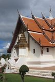 Thai buddhist temple. In north of Thailand more than 100 years old Stock Photos