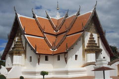 Thai buddhist temple. In north of Thailand more than 100 years old Stock Photography