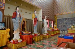 Thai buddhist temple Stock Photo