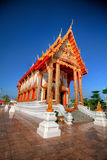 Thai Buddhist Temple. Wat Chung Lom Temple HDR - Thailand royalty free stock photo