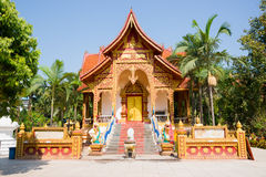 Thai Buddhist traditional palace Royalty Free Stock Image