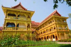 Thai Buddhist traditional palace Royalty Free Stock Photos