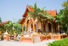 Thai Buddhist traditional palace Stock Images