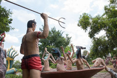 Thai buddism hell Royalty Free Stock Photos