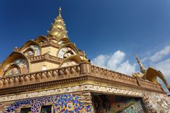 Thai buddist temple Stock Photography